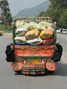 KKH is used for imports and exports in the far areas. Fruits & Vegetables are being transported.