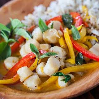 Thai Seafood Curry.