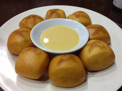 Dong Bei Ren Jia, man tou condensed milk