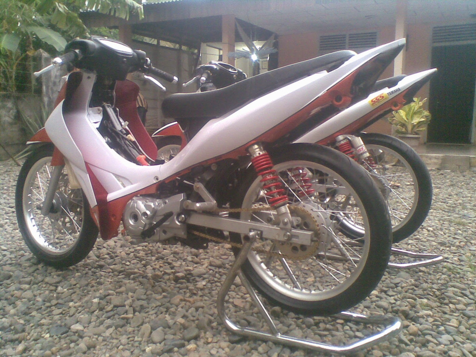 New Jupiter Z Modifikasi Road Race