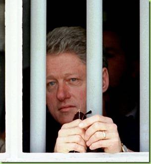 clinton mandela jail