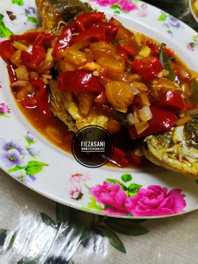 Dapur FiezaSani - Ikan Siakap Masak 3 Rasa