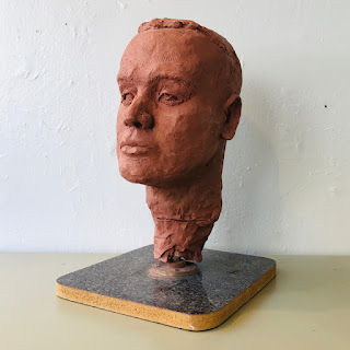 Clay Head Sculpture