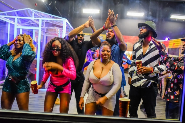 Bbnaija housemates having fun