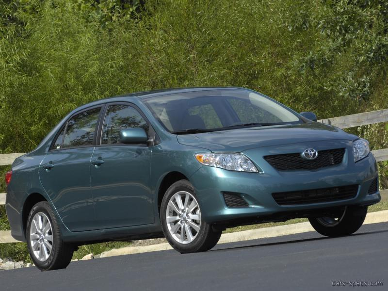 2009 toyota corolla sedan specifications pictures prices. Black Bedroom Furniture Sets. Home Design Ideas
