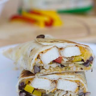Crispy Southwestern Burritos