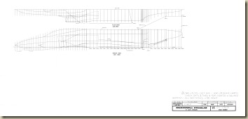 F-4E F fuselage sheer and plan view