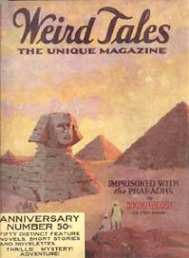 Cover of Howard Phillips Lovecraft's Book Imprisoned with the Pharaohs