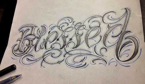 blessed in cursive fonts for tattoos pictures to pin on