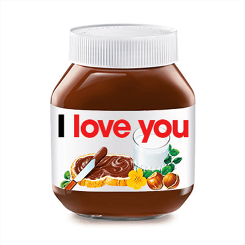 SEND A SPECIAL SHOUT-OUT TO A LOVED ONE VIA #NUTELLAMESSENGER 5