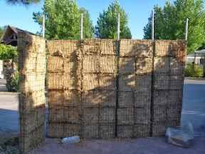 mobil home Kontiki mur phonique