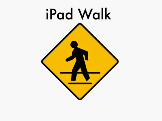 Teacher iPad Walk and Twitter Blitz