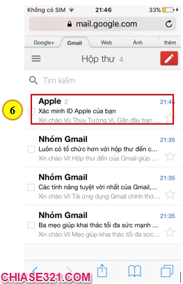 hướng dẫn cách tạo tài khoản ID Apple cho iPhone iPad để tải game ứng dụng trên App Store