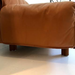 Stendig Vintage Leather Sofa