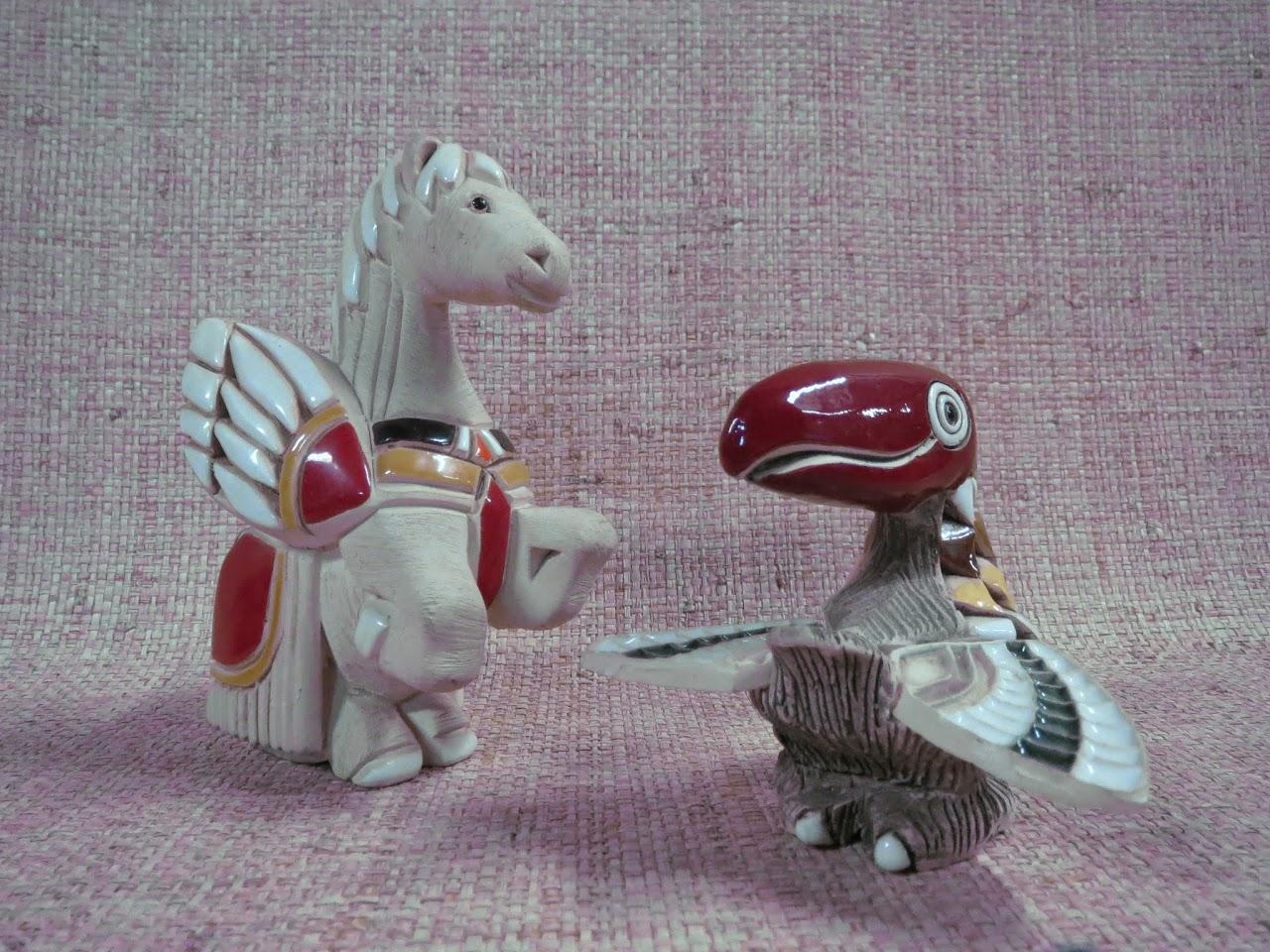 RInconada de Rosa Animal Figurine Trio
