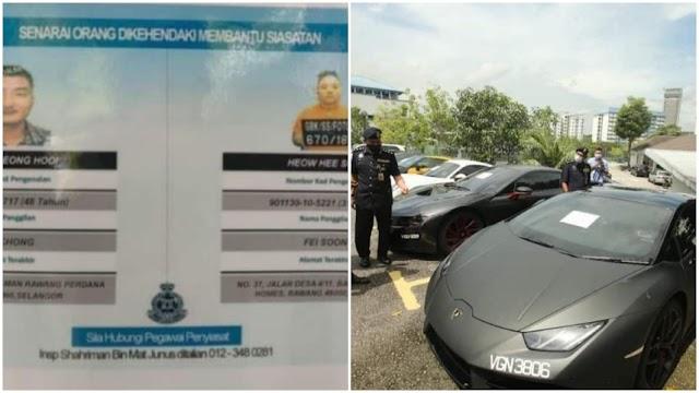Sindiket 'Datuk Ken' miliki 14 banglo,14 kereta mewah serta wang RM 33 Juta tumpas