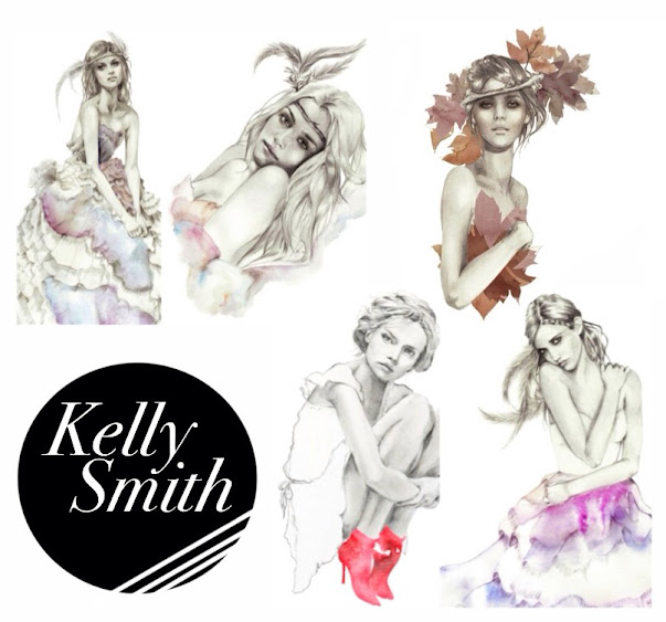 Kelly Smith Fashion Illustrater