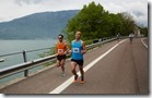 alpago running tour - luca schizzi e davide gazzola guidano la corsa FOTO MATTEO MUNARIN