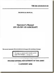 Grumman OV-1 Mohawk Operators Manual 1