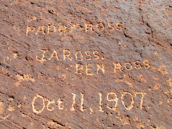 J.A. Ross, Ben Ross, Oct. 11, 1907; Paddy Ross was the name of their boat