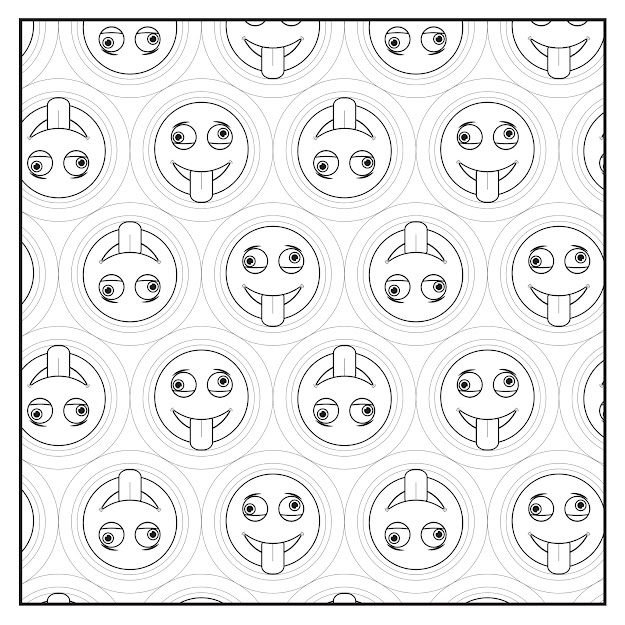 Emoji Crazy Coloring Book  Pages For Adults Teens And Kids
