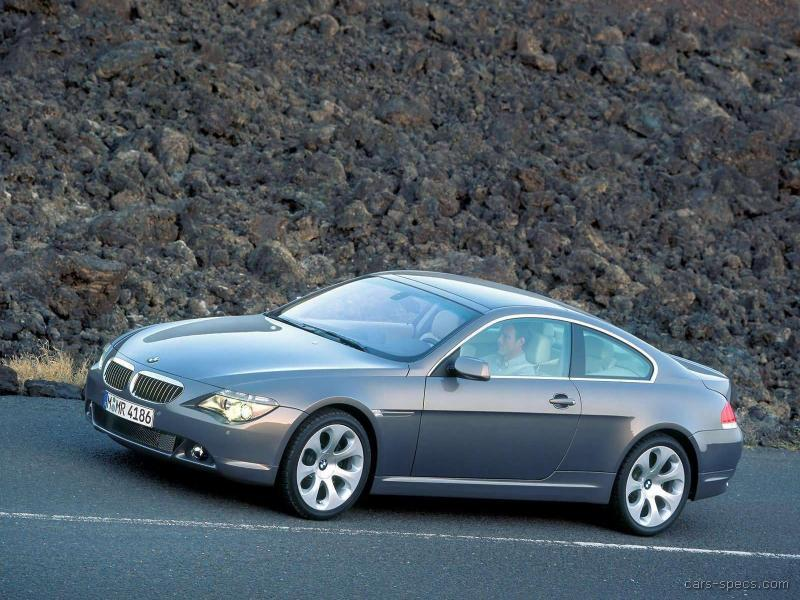 2005 bmw 6 series coupe specifications pictures prices. Black Bedroom Furniture Sets. Home Design Ideas