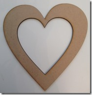 MDF Heart