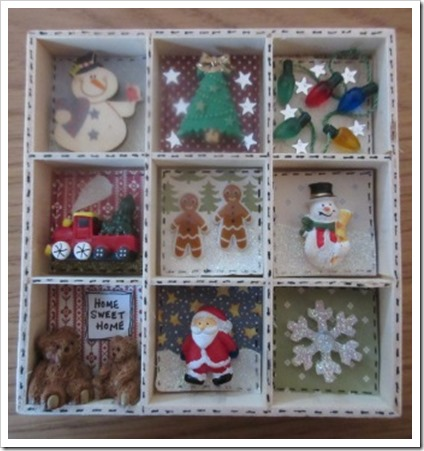 mini christmas printers tray