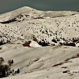 Iarna pe creasta Baiului