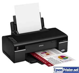Get reset Epson B40W printer program