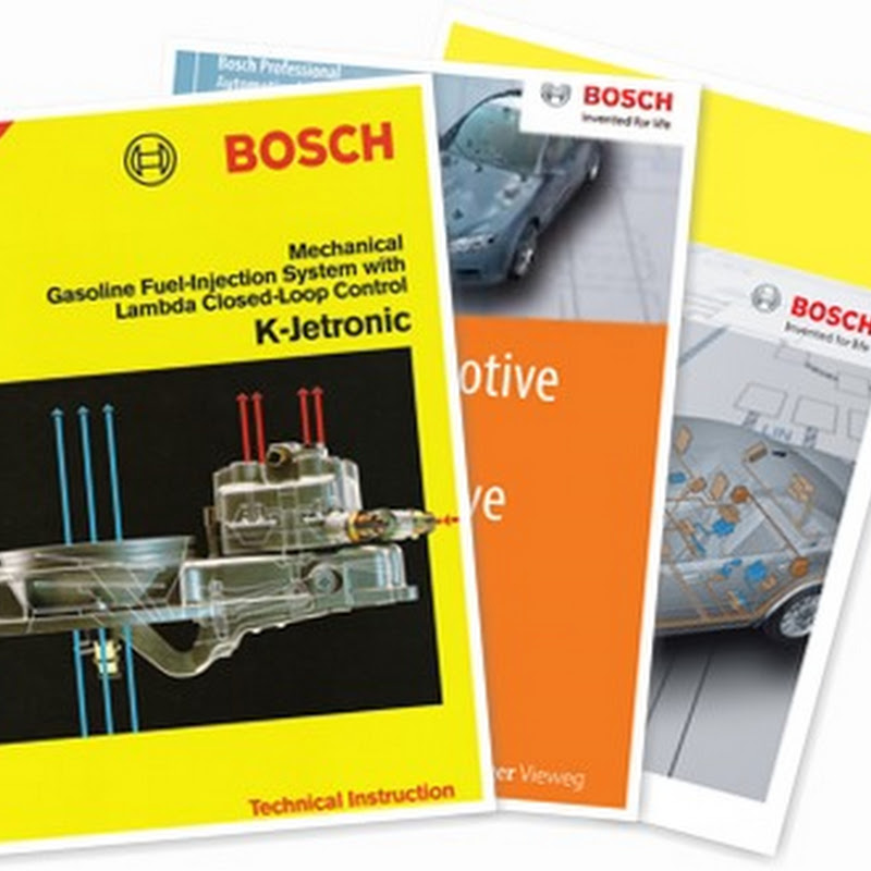 Automotive Bosch Handbooks