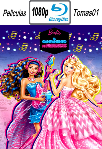 Barbie: Campamento de Princesas (2015) BDRip m1080p