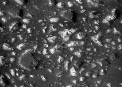 região Eridania de Marte