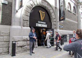 17050301 May 17 Terry Entering Guinness Tour