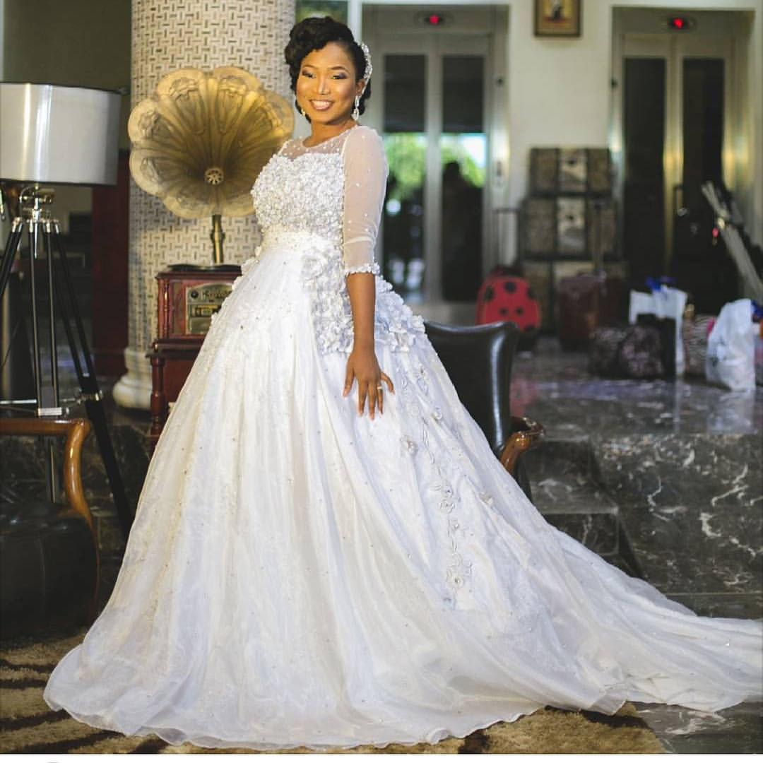 Latest Wedding Gown Styles In Nigeria