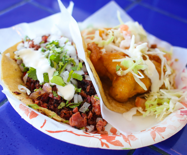 ... oyster tacos recipe dishmaps oyster taco fried oyster tacos recipes