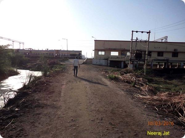 Bharuch-Dahej Railway Line