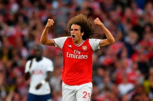Arsenal fans gave Matteo Guendouzi something to remember