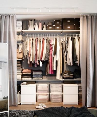 stail almari bagi perempuan