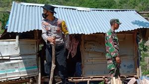 """Bhabinkamtibmas dan Babinsa Desa Leu Bersinergi  Lakukan Patroli  Cegah Pembabatan  Hutan Lindung di So  La Brasi """""""