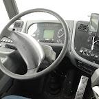 Het dashboard van de Vanhool A330 van Connexxion bus 4129