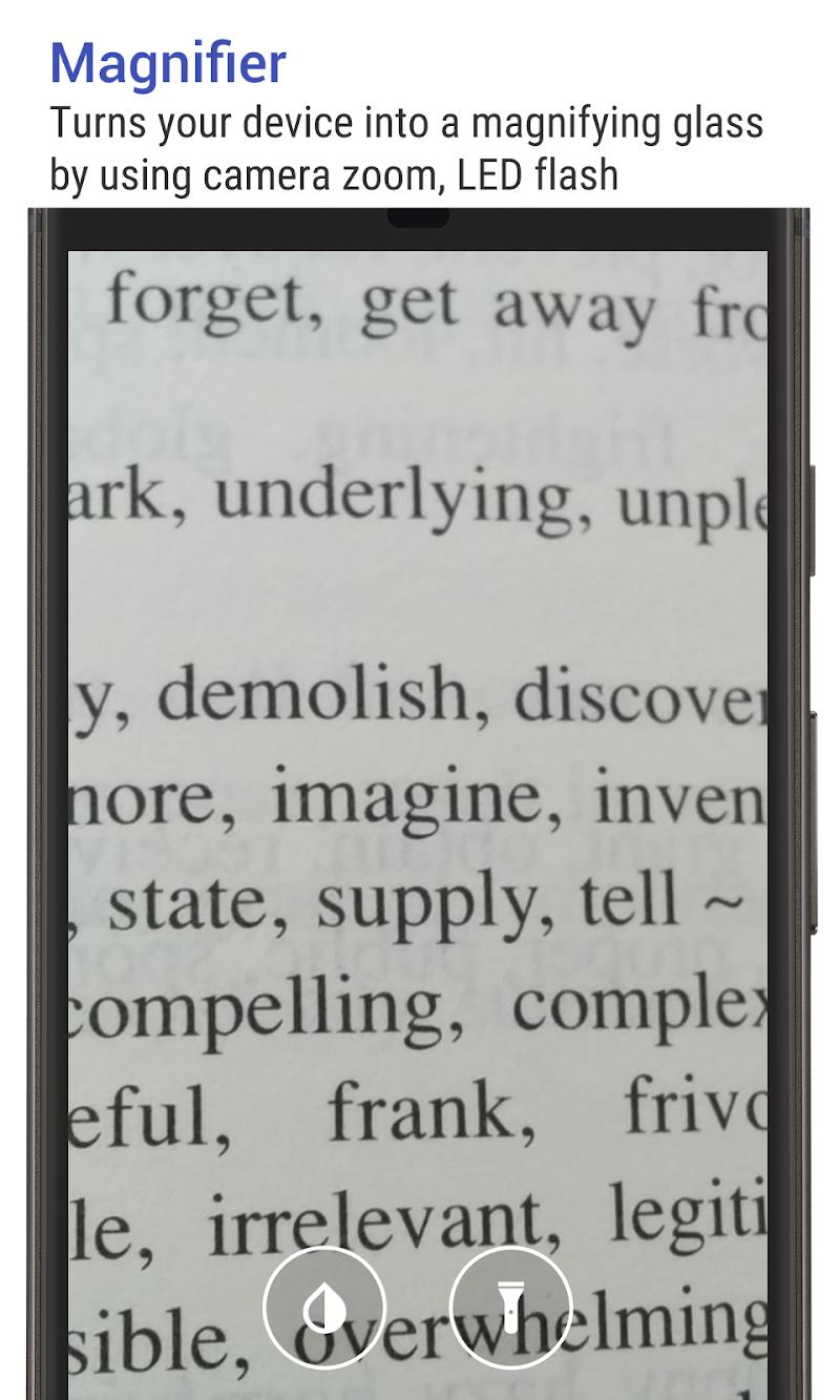 Big Font (change font size & display size) Screenshot 2