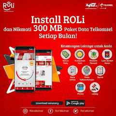 ROLi Telkomsel : Cara daftar dan menggunakan aplikasi ROLi