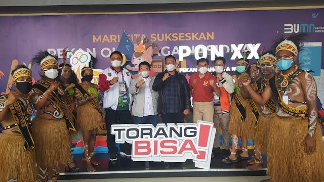 Semangati Atlet PON, Wagub Kalteng Bertolak ke Papua