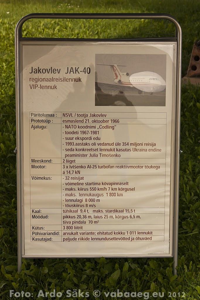 23.08.12 Eesti Lennundusmuuseumi eksponaadid 2012 - AS20120823LENNUK_081V.JPG