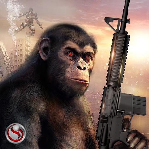 Apes Age vs Robots Survival War (game)