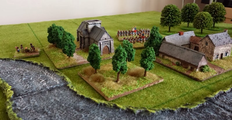 Battlefields And Warriors 6mm 10mm Project 1st Month