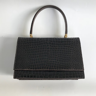 Rene Vintage Alligator Handbag