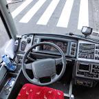 het dashboard van de Volvo Berkhof van Munckhof
