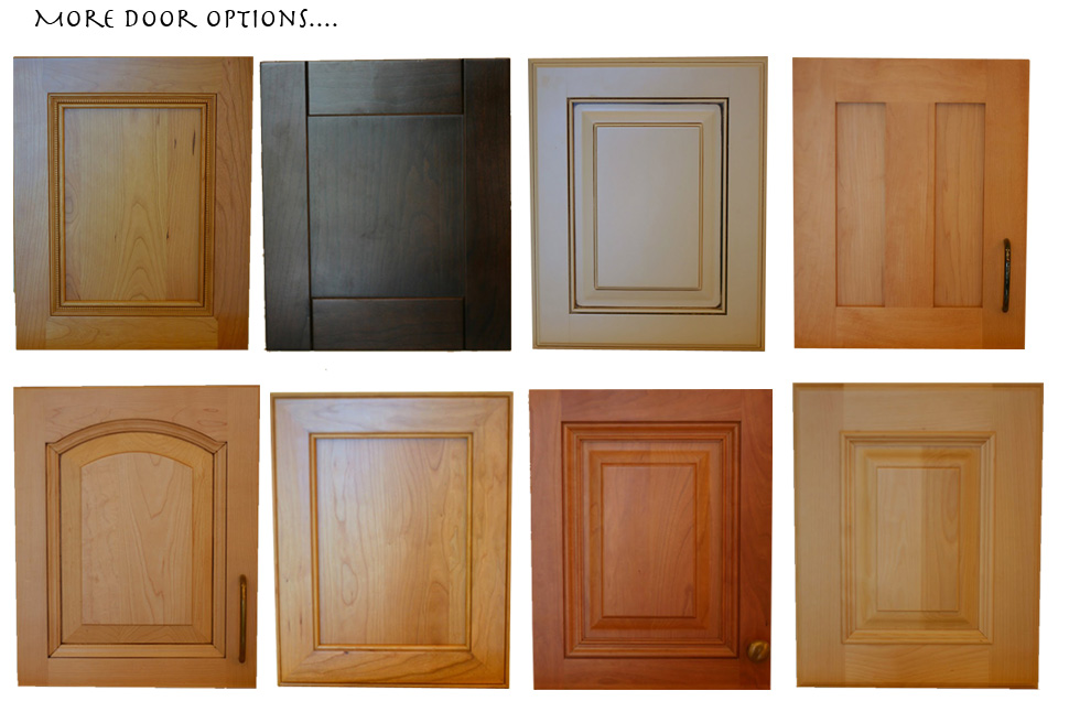 cabinet door options raised panel flat panel arch top